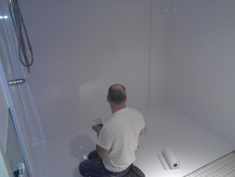 Transformation baignoire douche montr al laval blainville bain miracle - Transformation salle de bain en douche ...